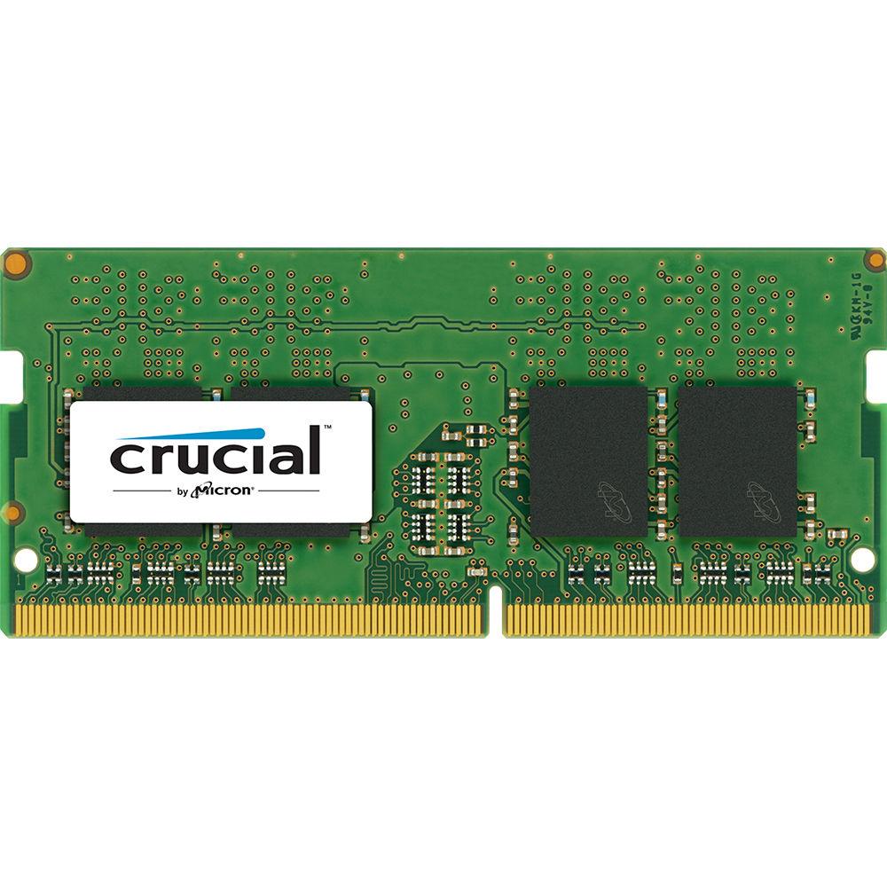 Crucial 8gb Ddr4 2400 Mhz So Dimm Memory Module Ct8g4sfs824a B H
