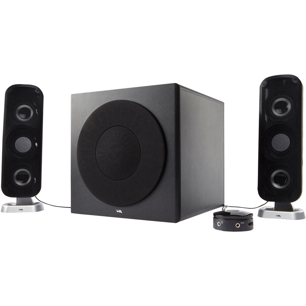 Cyber Acoustics CA-3602 - speaker system - for PC Specs & Prices