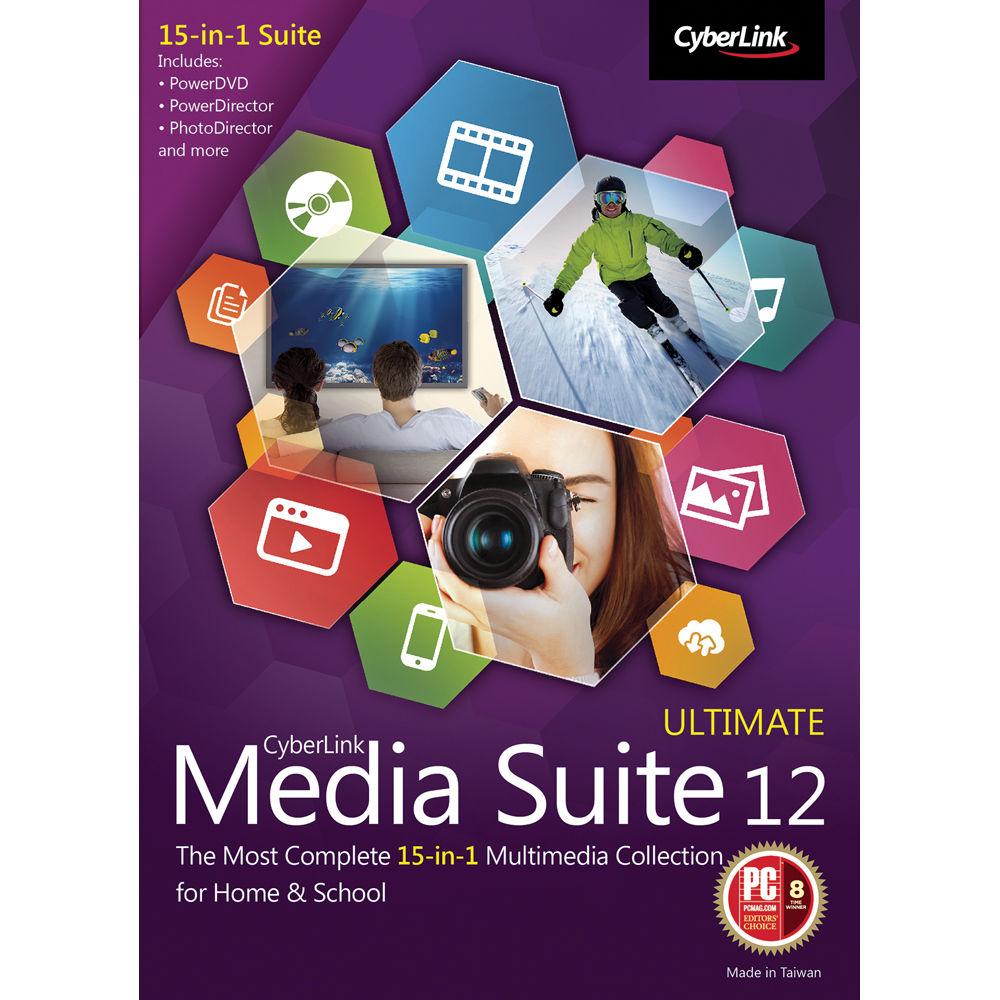 cyberlink media suite 14 ultimate download