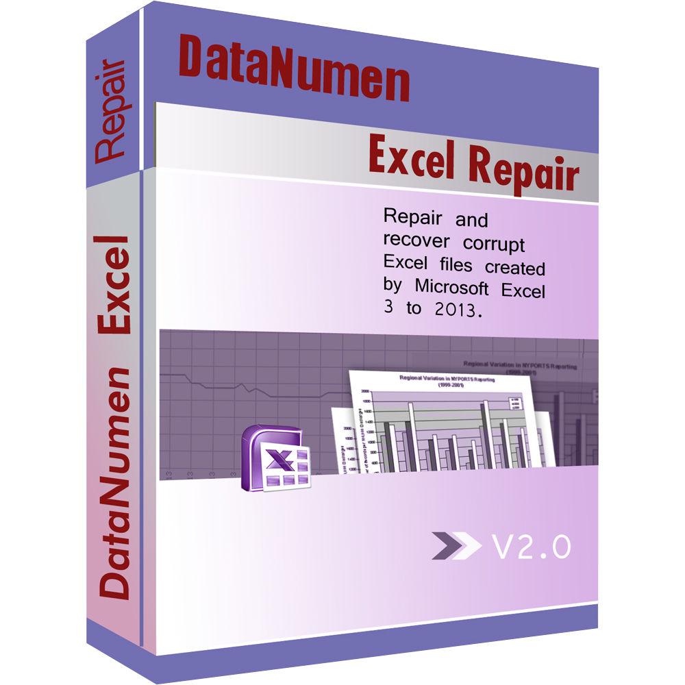 DataNumen Advanced Excel Repair (Download) AERFULL B&H Photo