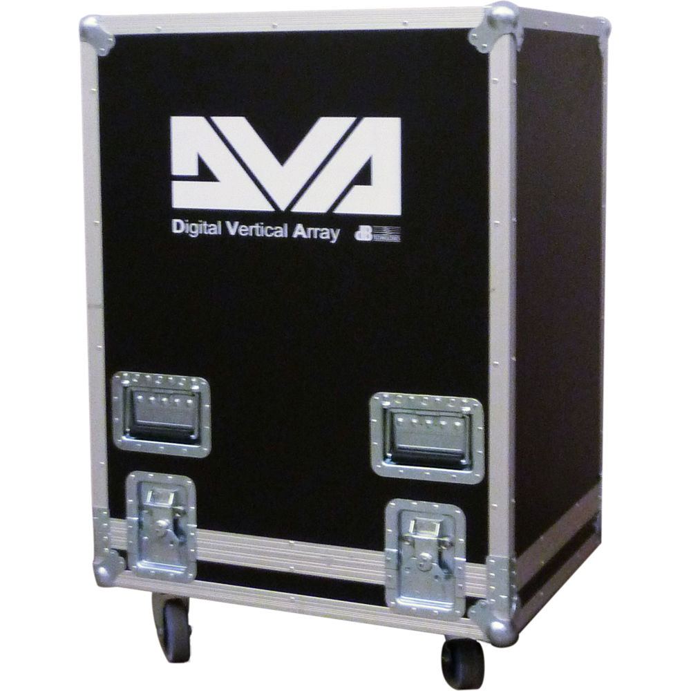 (EA) Flight Case for 2 DVA T12