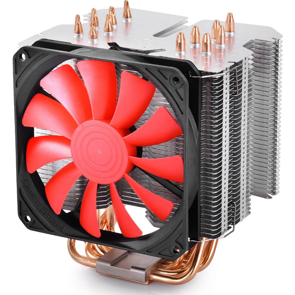 Cpu Air Cooler : Deepcool lucifer k cpu air cooler b h photo video