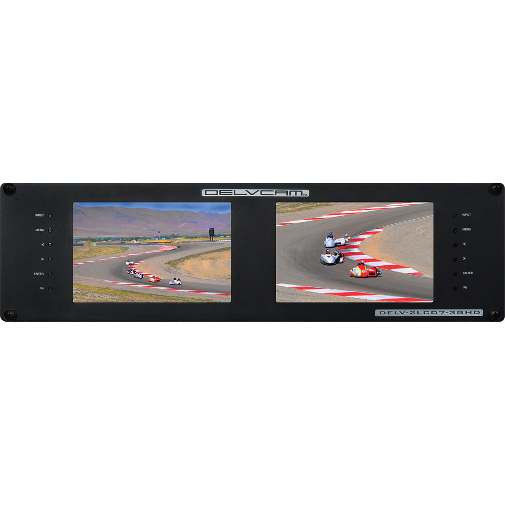 Delvcam Delv 2lcd7 3ghd Dual Rackmount 7 Fuse Box Cover Car Truck Parts Ebay 3g Sdi Monitors