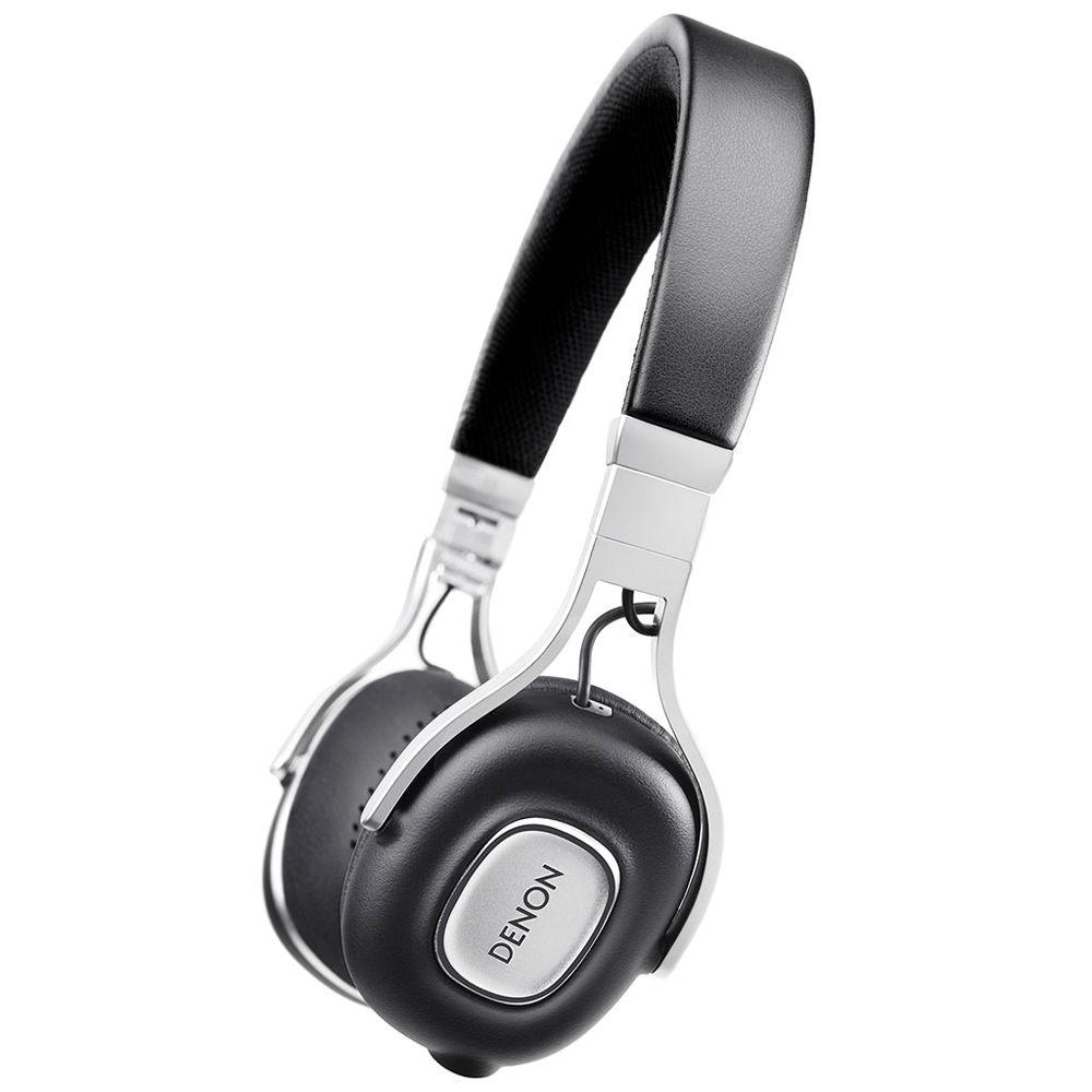Denon AH-MM200 Portable On-Ear Headphones (Black) AHMM200 B&H
