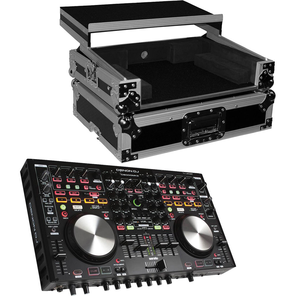denon dj mc6000mk2 professional digital mixer and controller b h. Black Bedroom Furniture Sets. Home Design Ideas