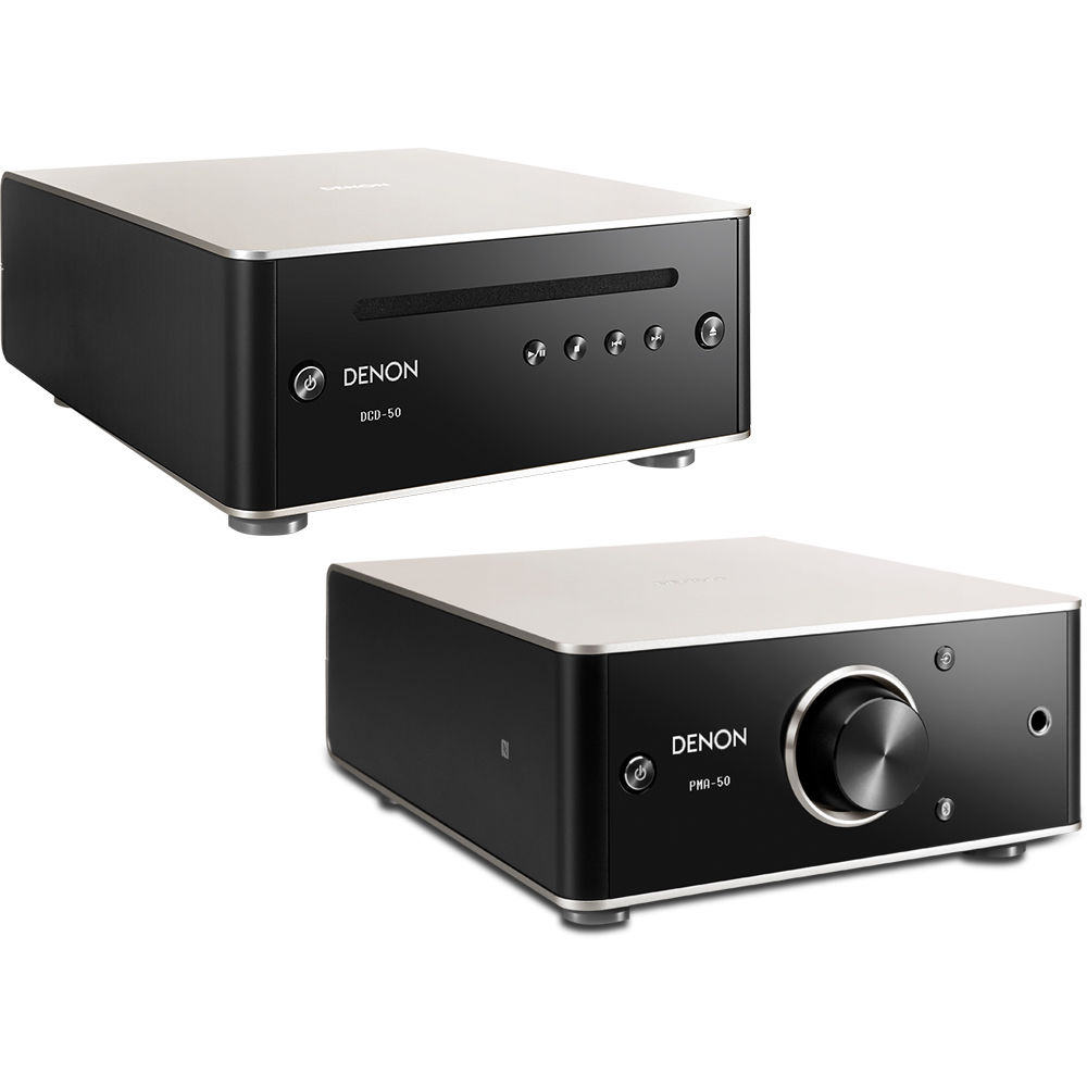 Denon PMA-50 Stereo Amplifier & DCD-50 CD PMA50/DCD50 BUNDLE