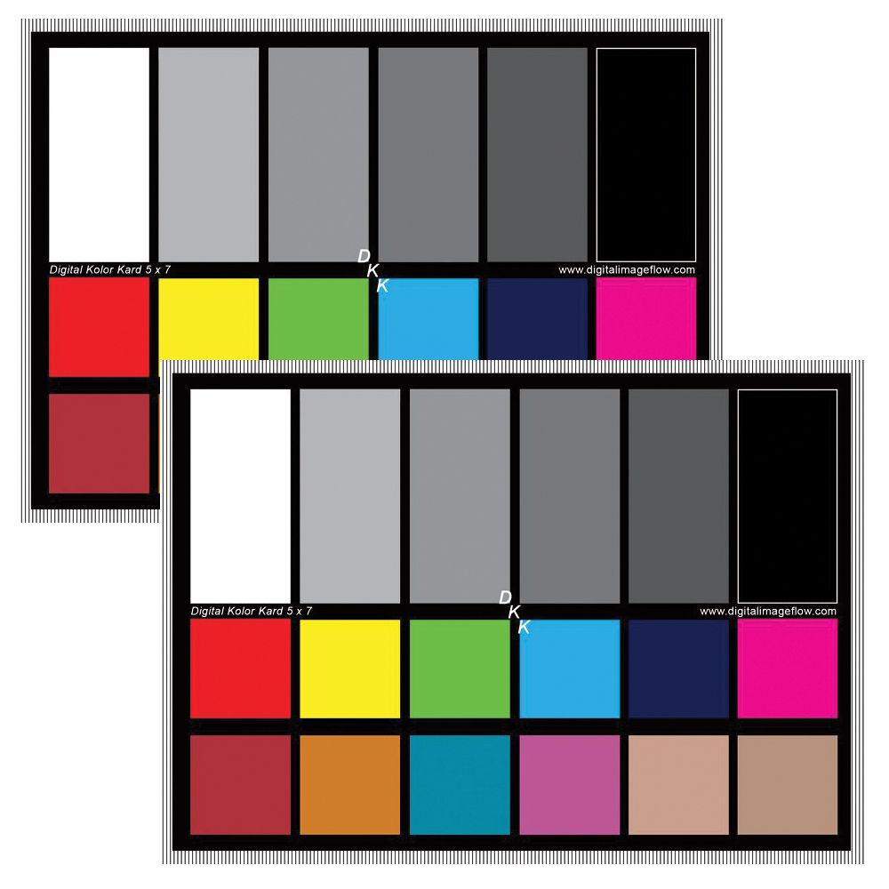 Dgk color tools dkk color calibration chart set dkk set of 2 bh dgk color tools dkk color calibration chart set nvjuhfo Image collections