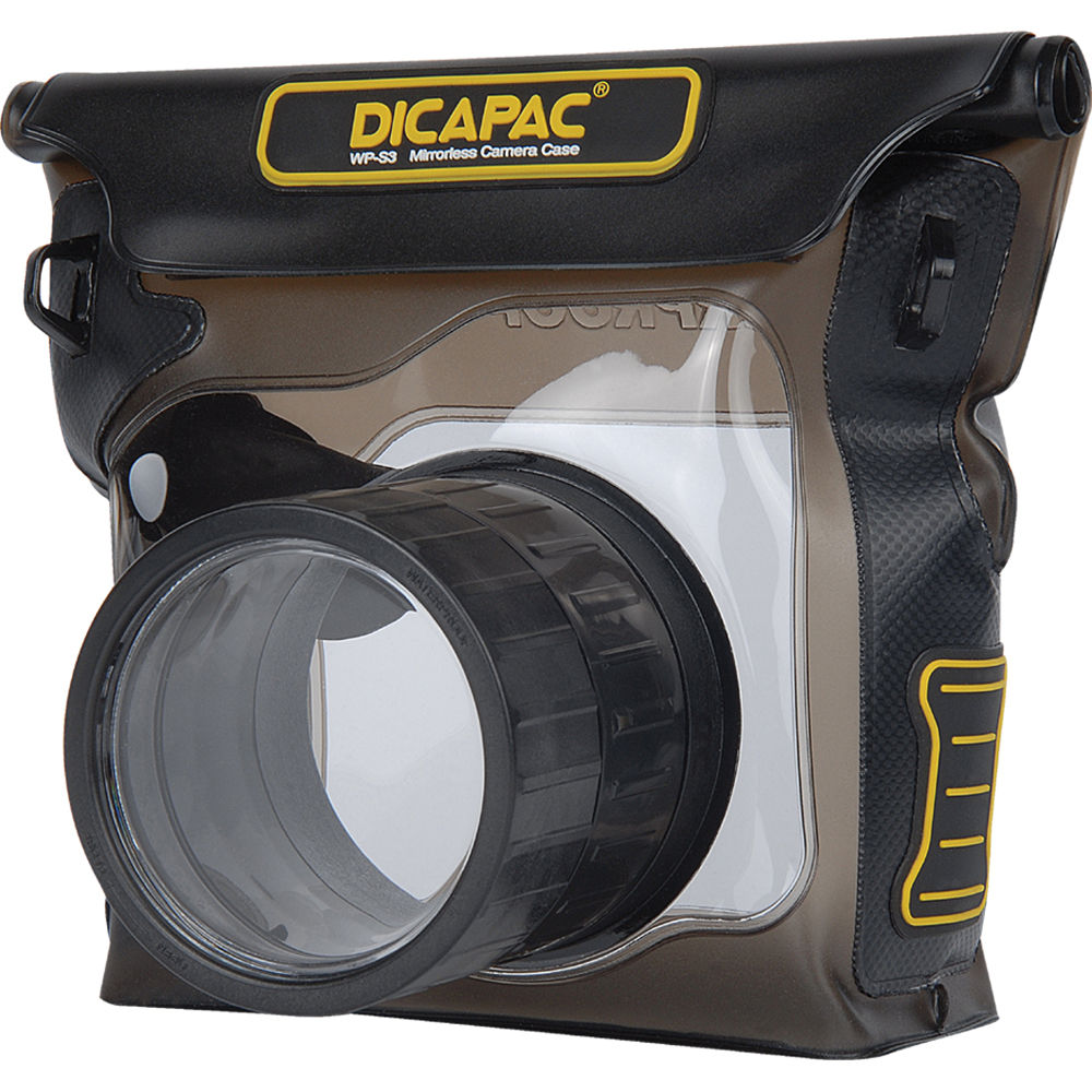 DiCAPac Waterproof Case for Mirrorless Camera WP S3 B&H