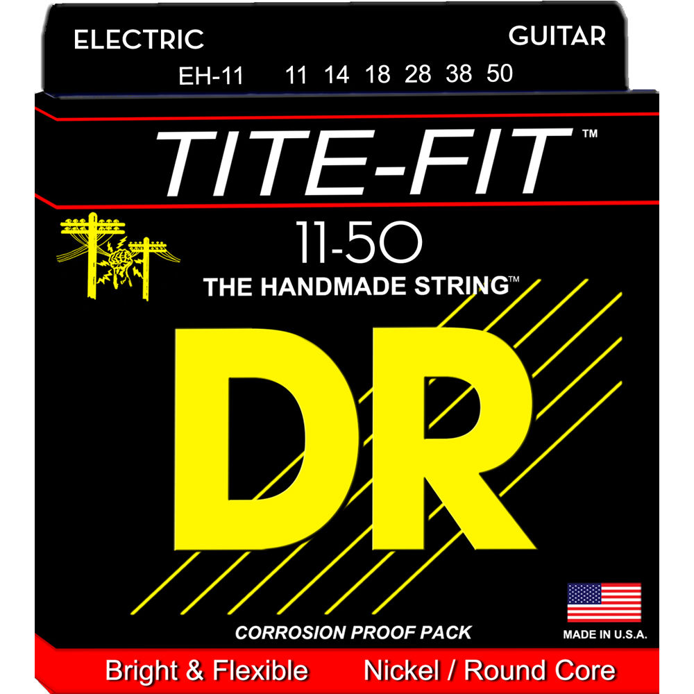 Dr Strings Tite Fit Electric Guitar Eh 11 Bh Photo How To Wire An Extra Heavy Gauge 6 String