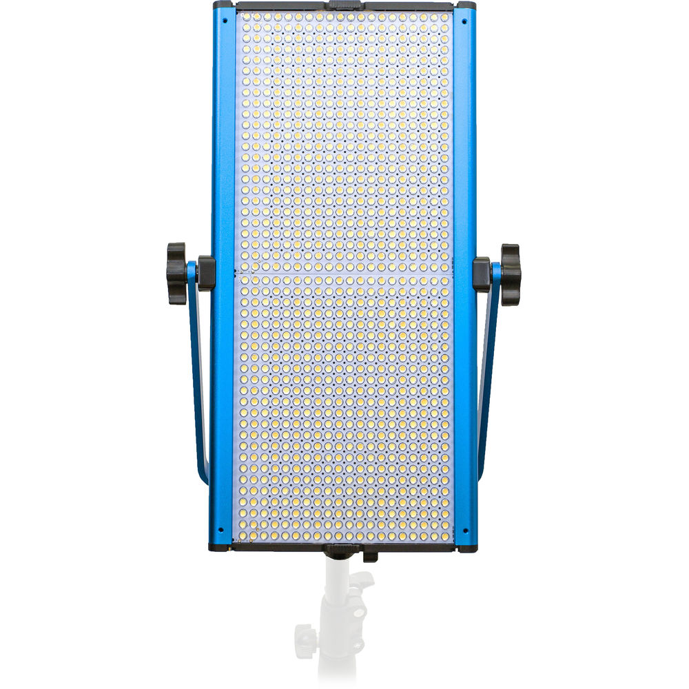 Dracast LED1000 Silver Series Bi-Color LED Light with V-Mount Battery Plate