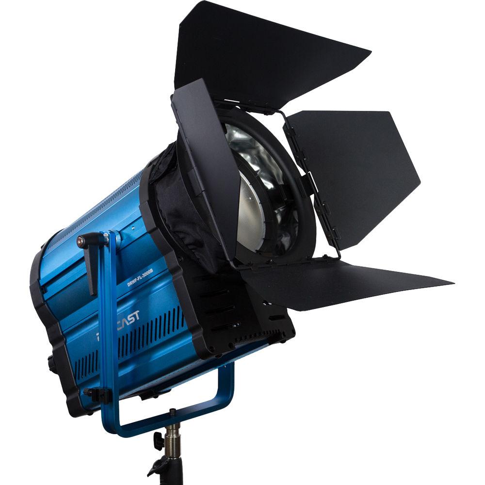 Dracast DRPL-FL-1000B Studio Bi-Color LED1000 Fresnel, Blue