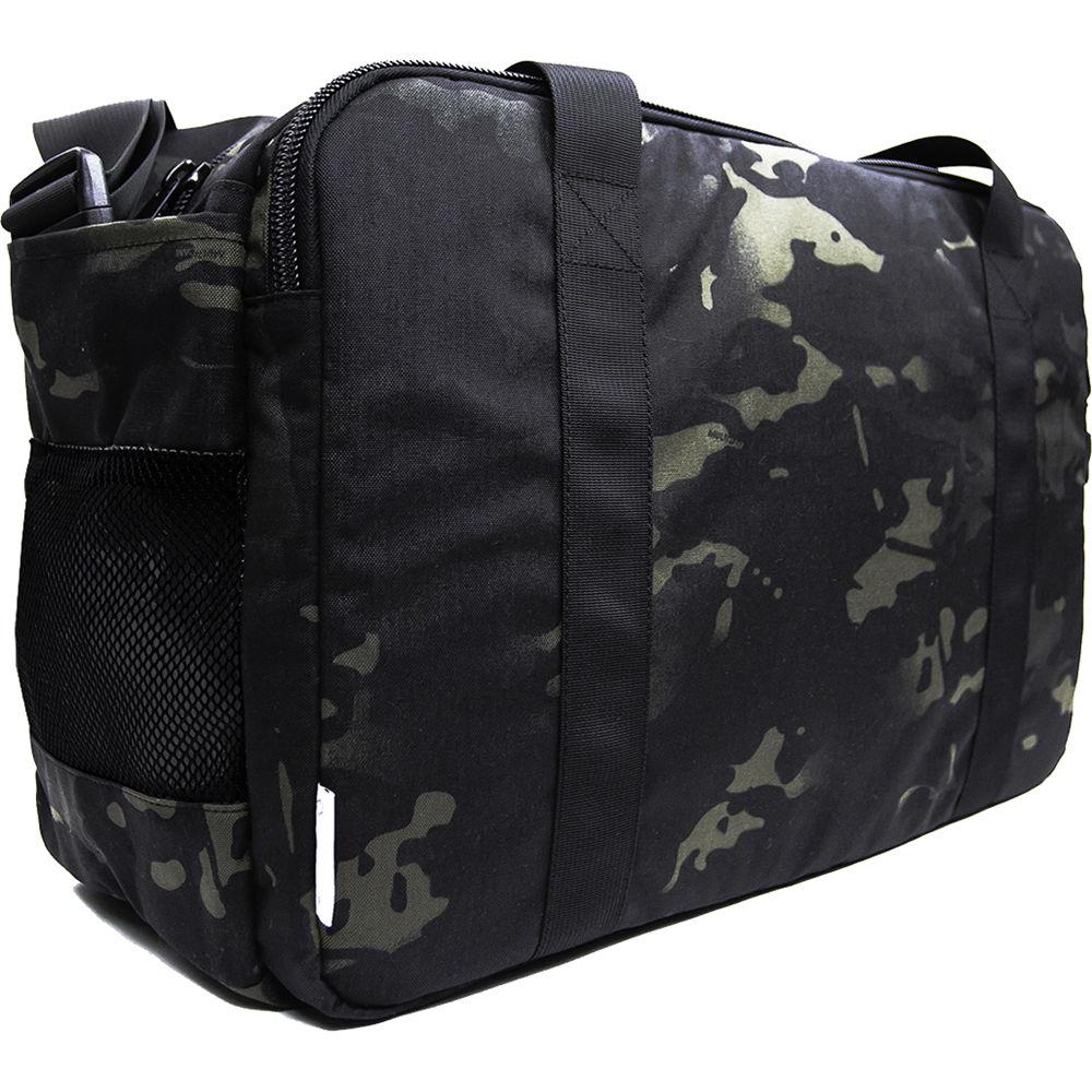 DSPTCH Gym Work Bag Black Camo