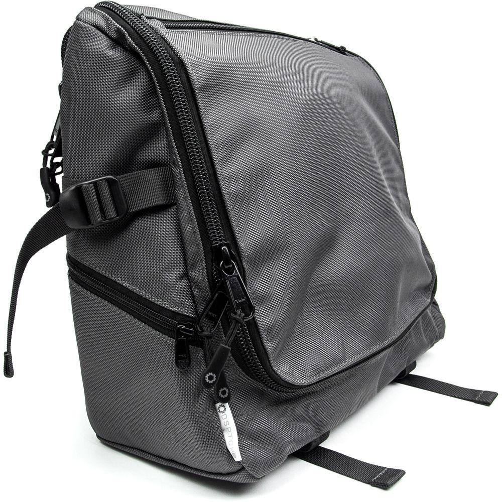 Dsptch Tech Messenger Bag Gray