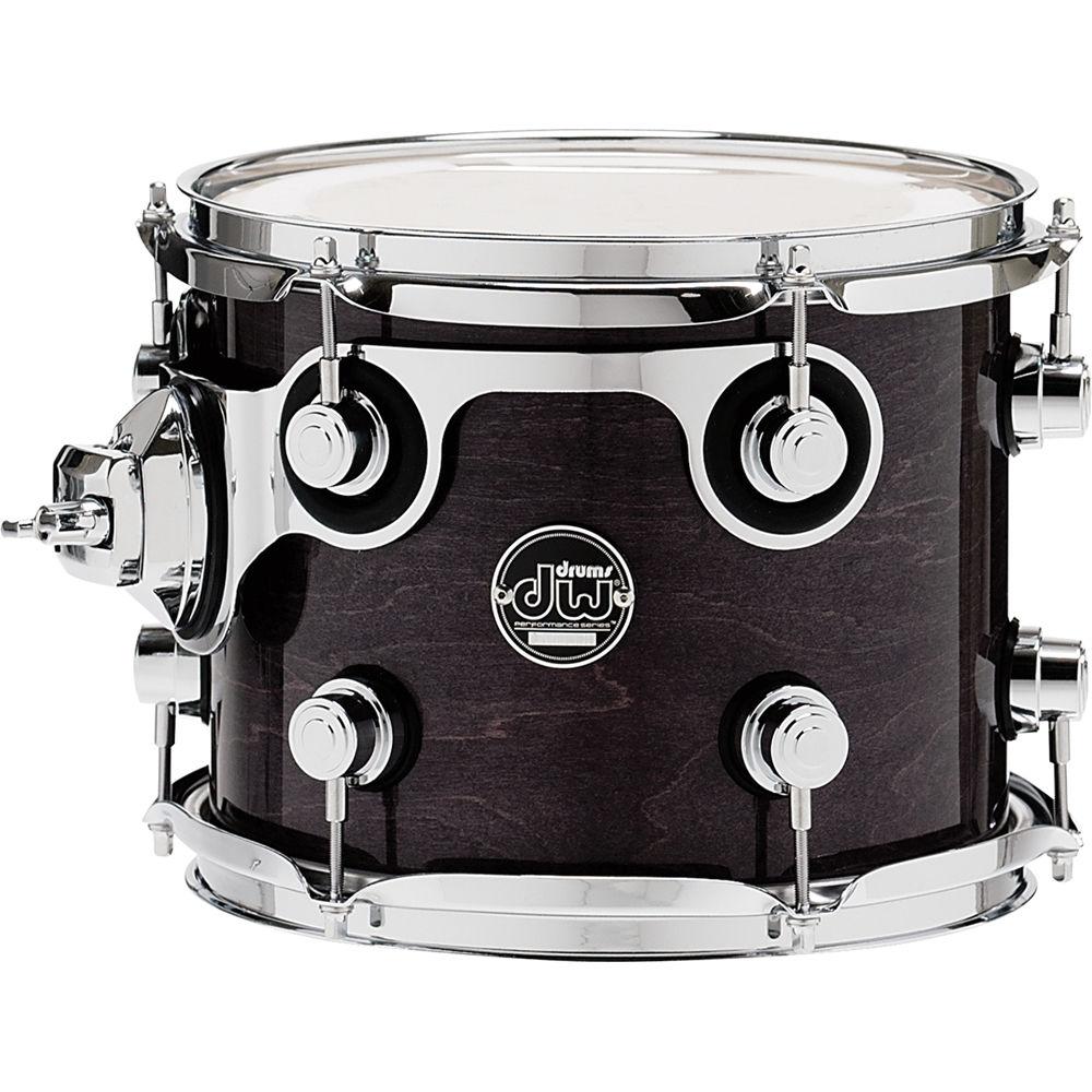 dw drums performance series 8 x 10 rack tom drpl0810stes. Black Bedroom Furniture Sets. Home Design Ideas