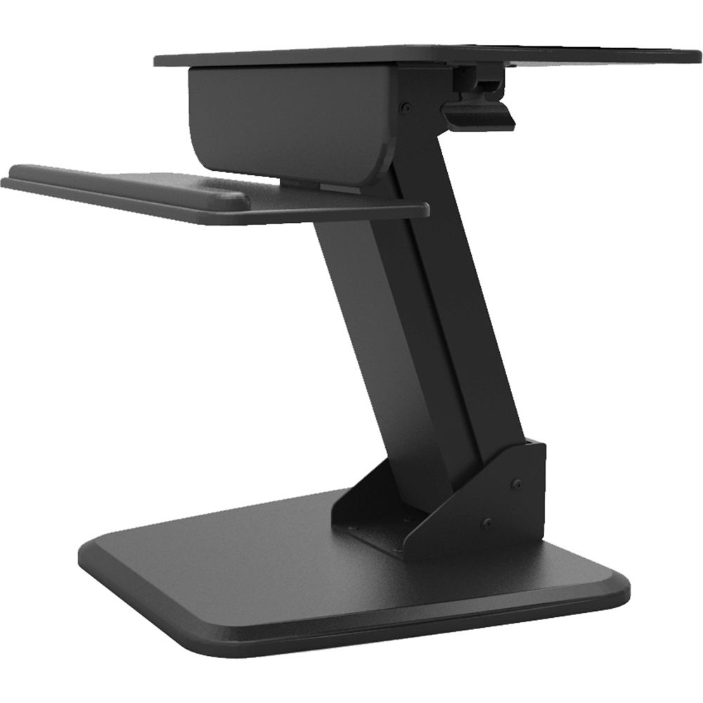 Dyconn Ergonomic Height-Adjustable Sit/Stand Desktop WF024B B&H on metal desk stand, wood desk stand, collapsible desk stand, long desk stand, simple desk stand, glass desk stand, table stand, magnetic desk stand, durable desk stand, standing desk stand, silver desk stand, modular desk stand, portable desk stand, plastic desk stand, ergonomic desk stand, small desk stand,