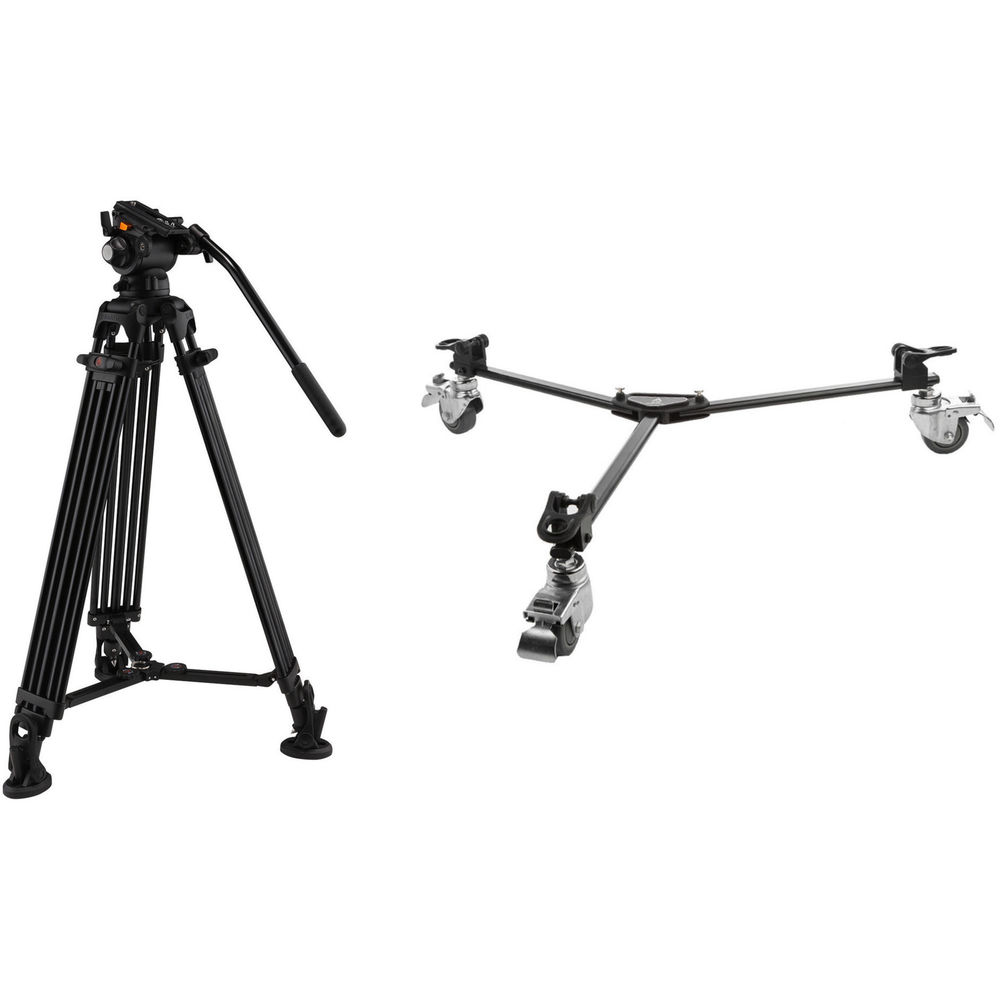 E Image Two Stage Aluminum Tripod With Gh03 Head Tripod