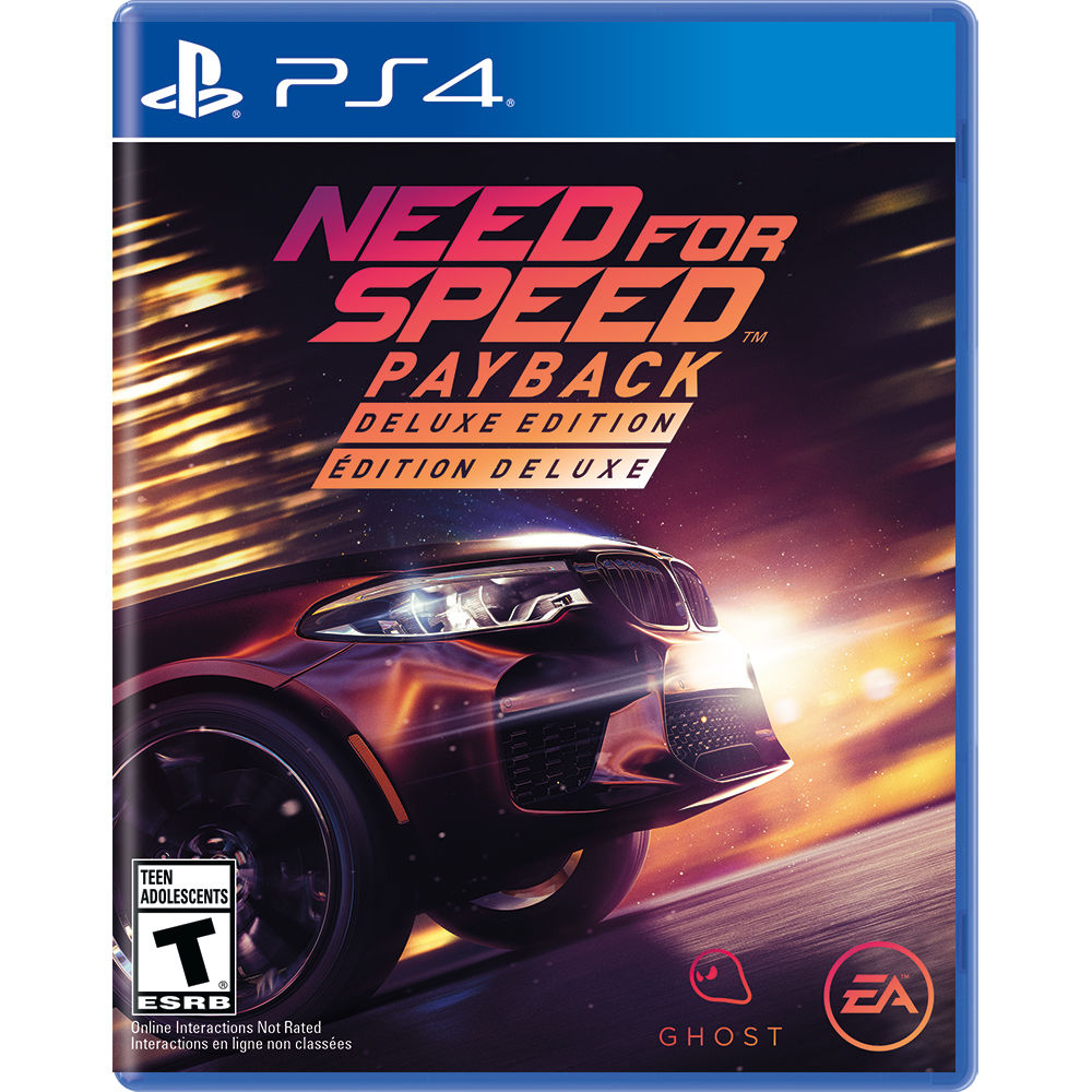 Electronic Arts Need For Speed Payback Deluxe Edition PS4