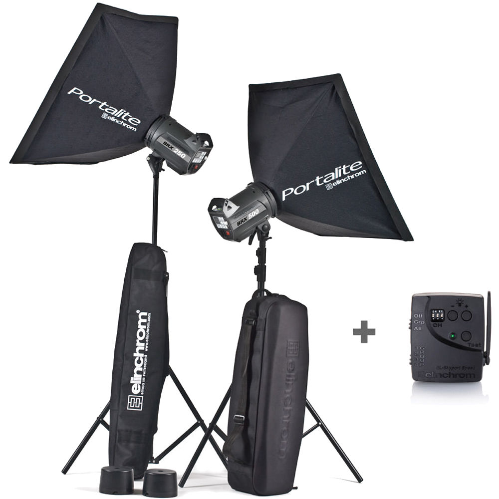 Elinchrom 500 Studio Lighting Kit