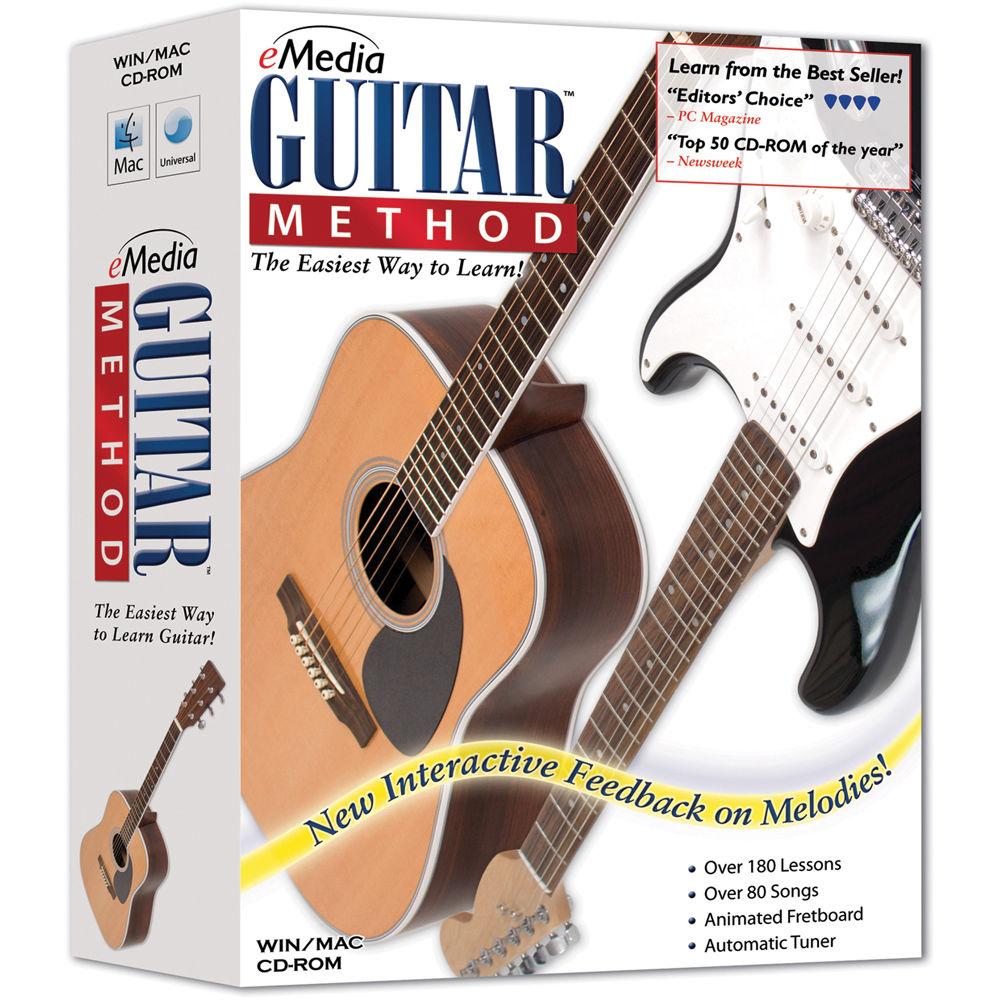 emedia music guitar method v5 beginner guitar eg10091dlw b h. Black Bedroom Furniture Sets. Home Design Ideas