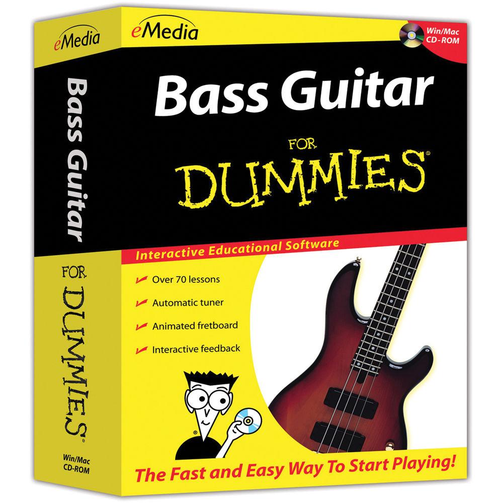 emedia music bass guitar for dummies beginner bass fd07101dlm. Black Bedroom Furniture Sets. Home Design Ideas