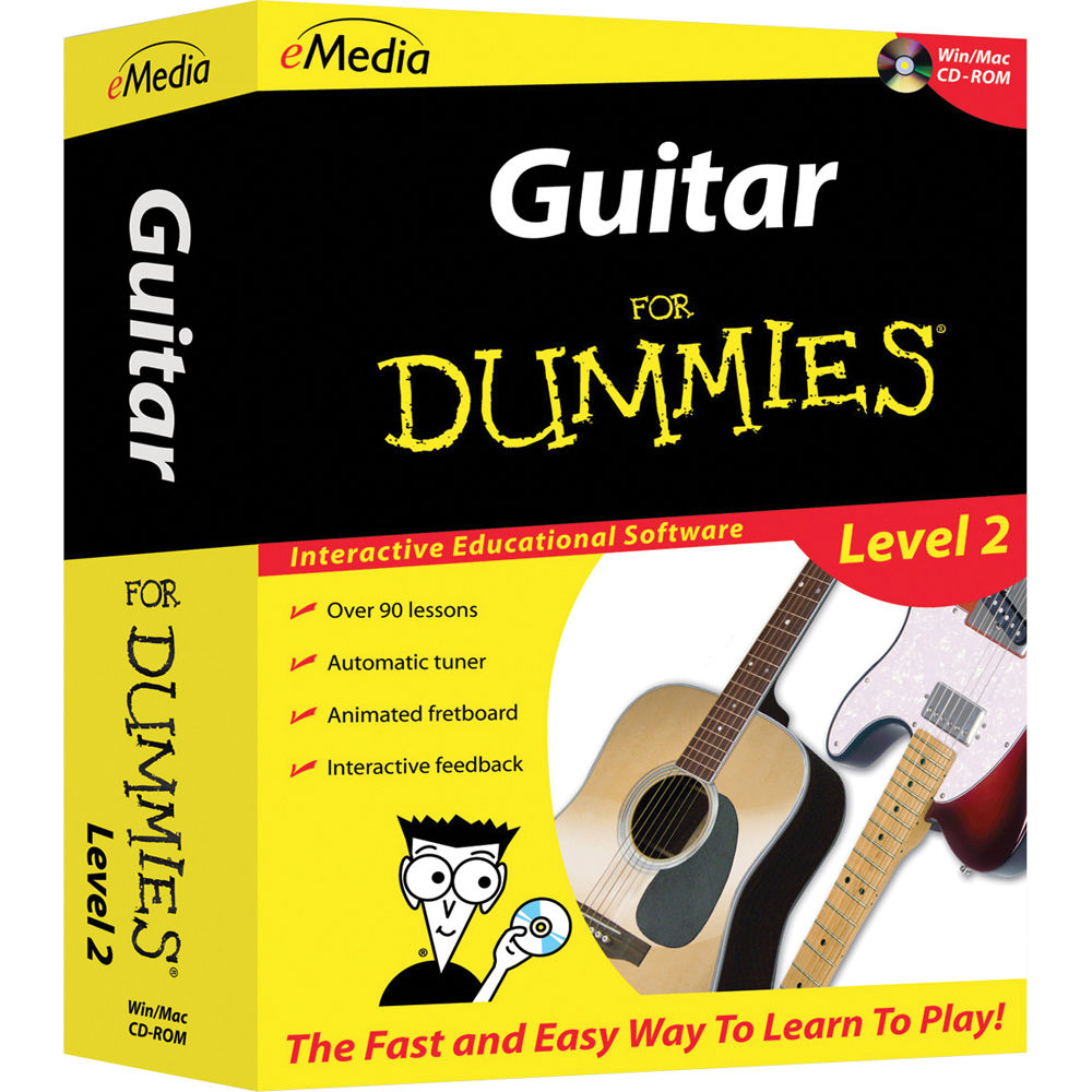 emedia music guitar for dummies level 2 for windows fd09107dlw. Black Bedroom Furniture Sets. Home Design Ideas
