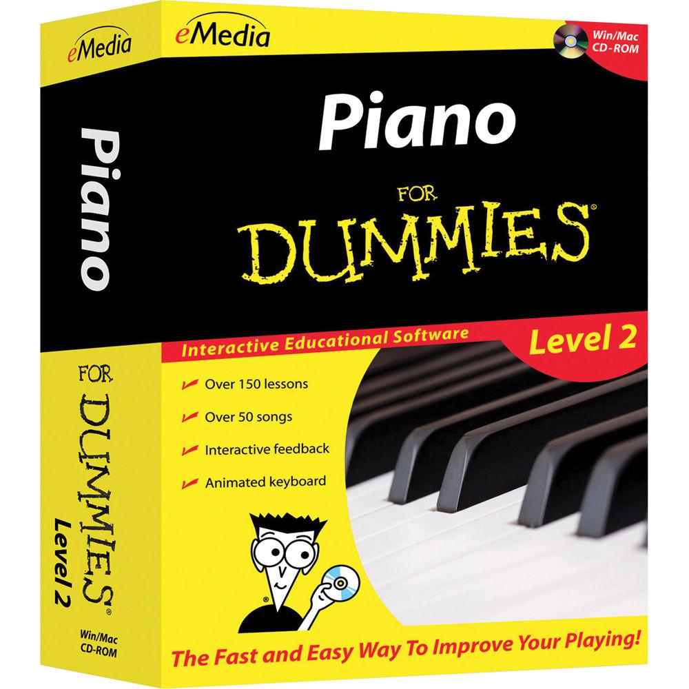 Emedia Music Piano For Dummies Level 2 Piano Fd09108dlw Bh