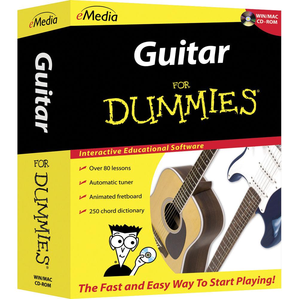 emedia music guitar for dummies v2 beginner guitar fd12091dlm