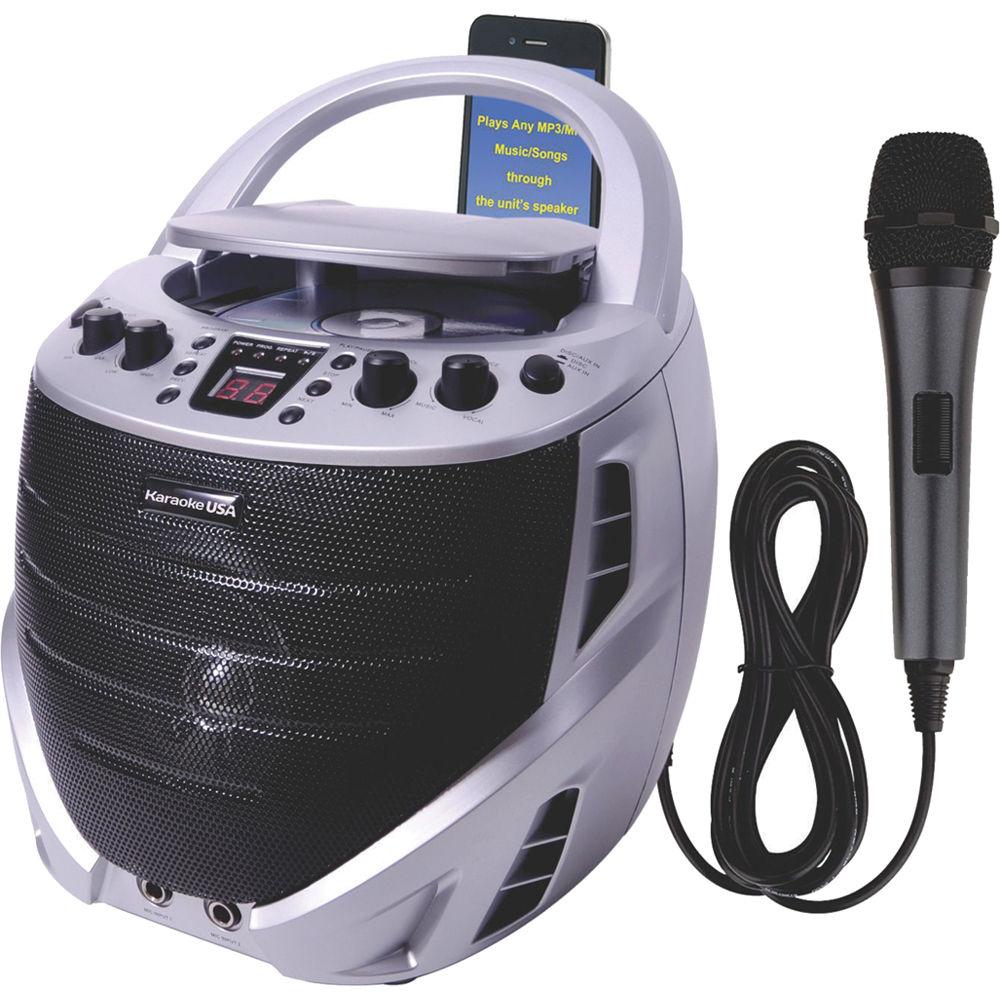 ilive blue karaoke machine