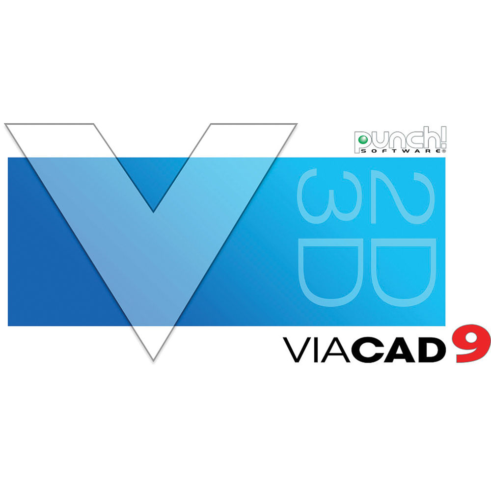 Encore Punch! ViaCAD 2D/3D V9 For Mac (Download) 0037090M B&H