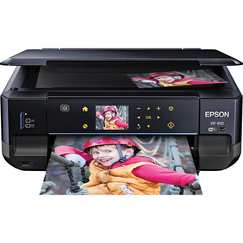 Epson xp-610 printer manual.