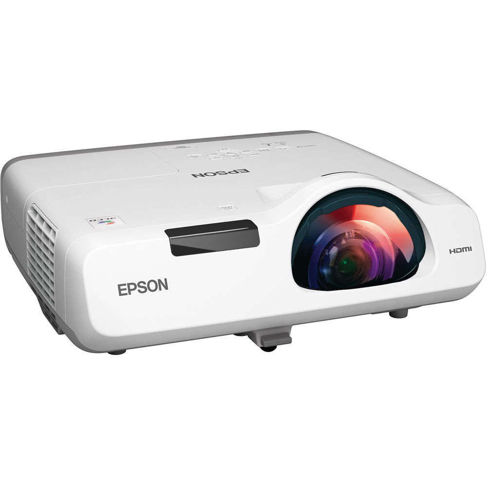 epson powerlite 530 3lcd short throw projector v11h673020 b h rh bhphotovideo com Epson 3010 Projector Mount epson 3020 projector review