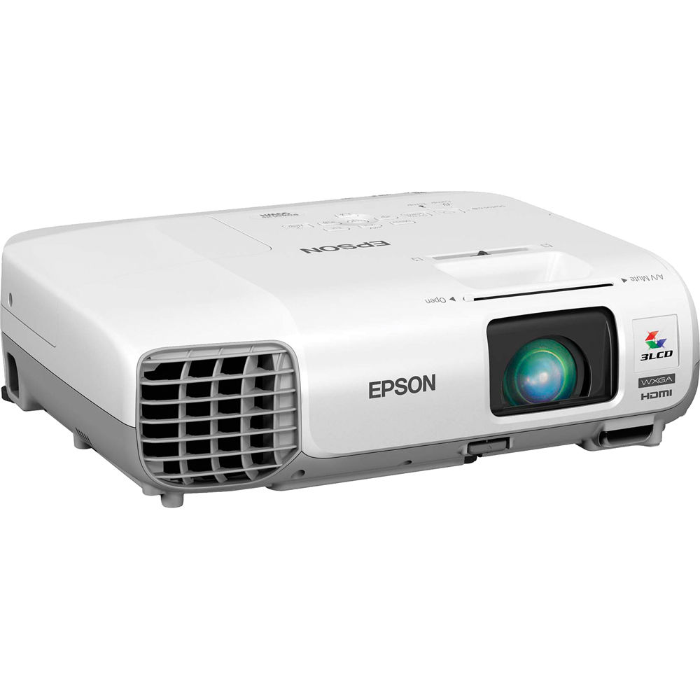 used epson powerlite 99wh 3000 lumen wxga 3lcd v11h686020 b h