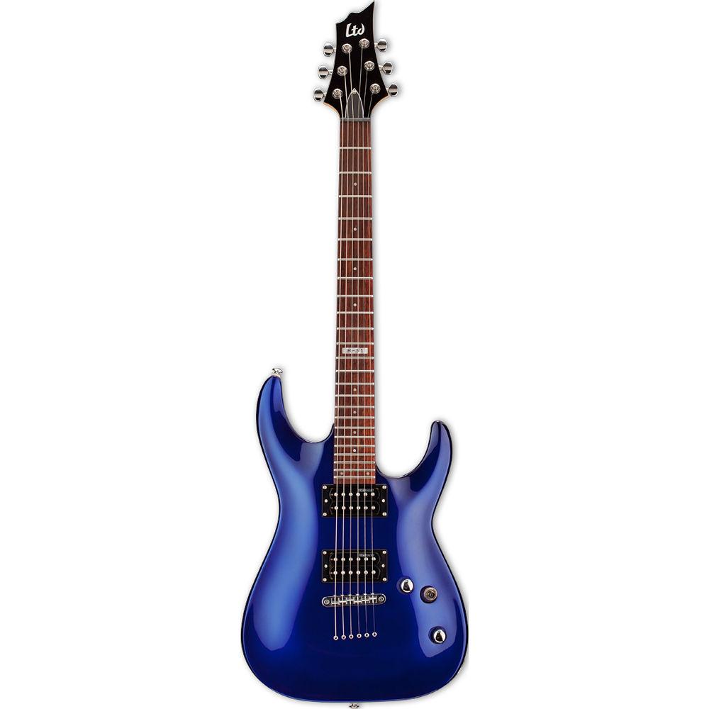 esp ltd h 51 electric guitar electric blue lh51eb b h photo. Black Bedroom Furniture Sets. Home Design Ideas