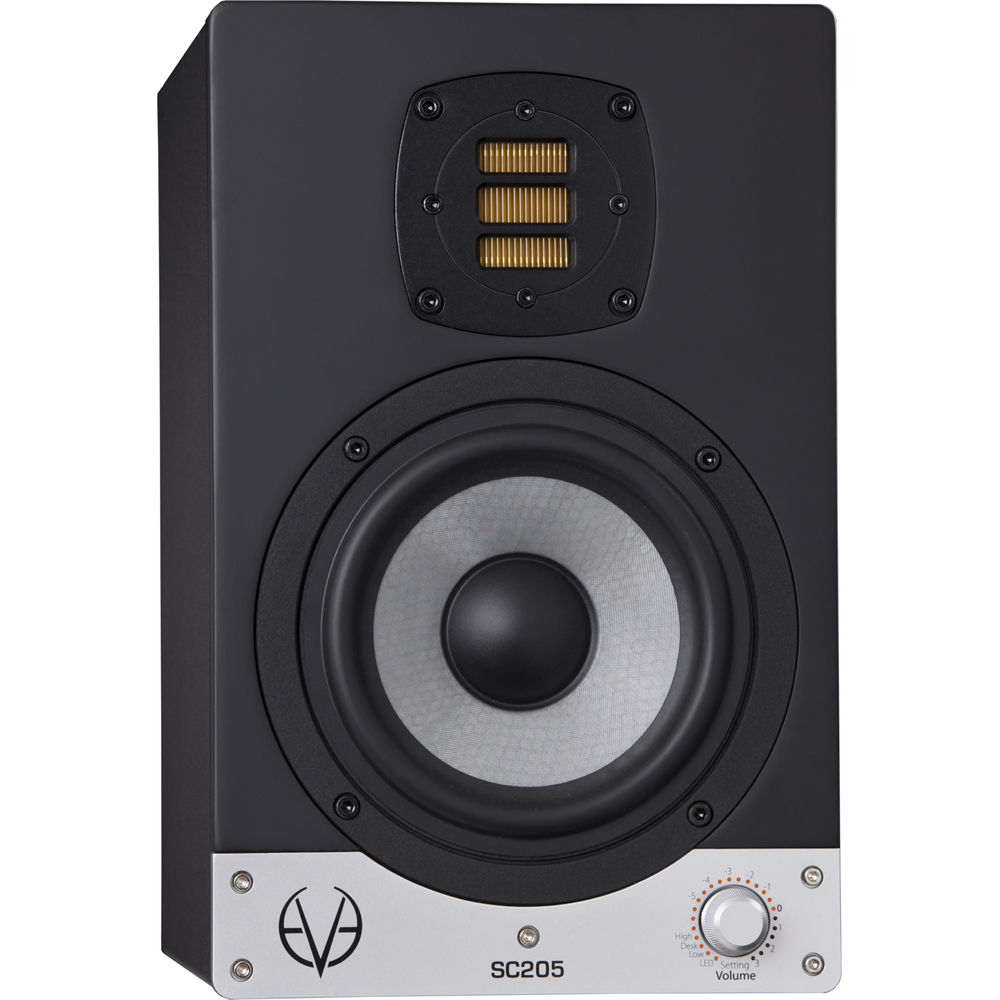 Two Way Audio Monitor : Eve audio sc quot two way active studio monitor