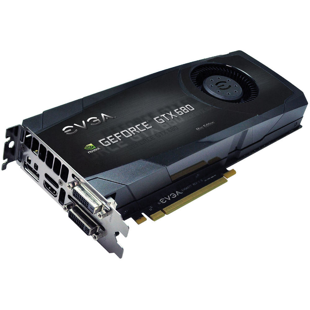 evga geforce gtx 680 graphics card for mac 02g p4 3682 kr b h rh bhphotovideo com evga gtx 680 drivers evga gtx 680 drivers