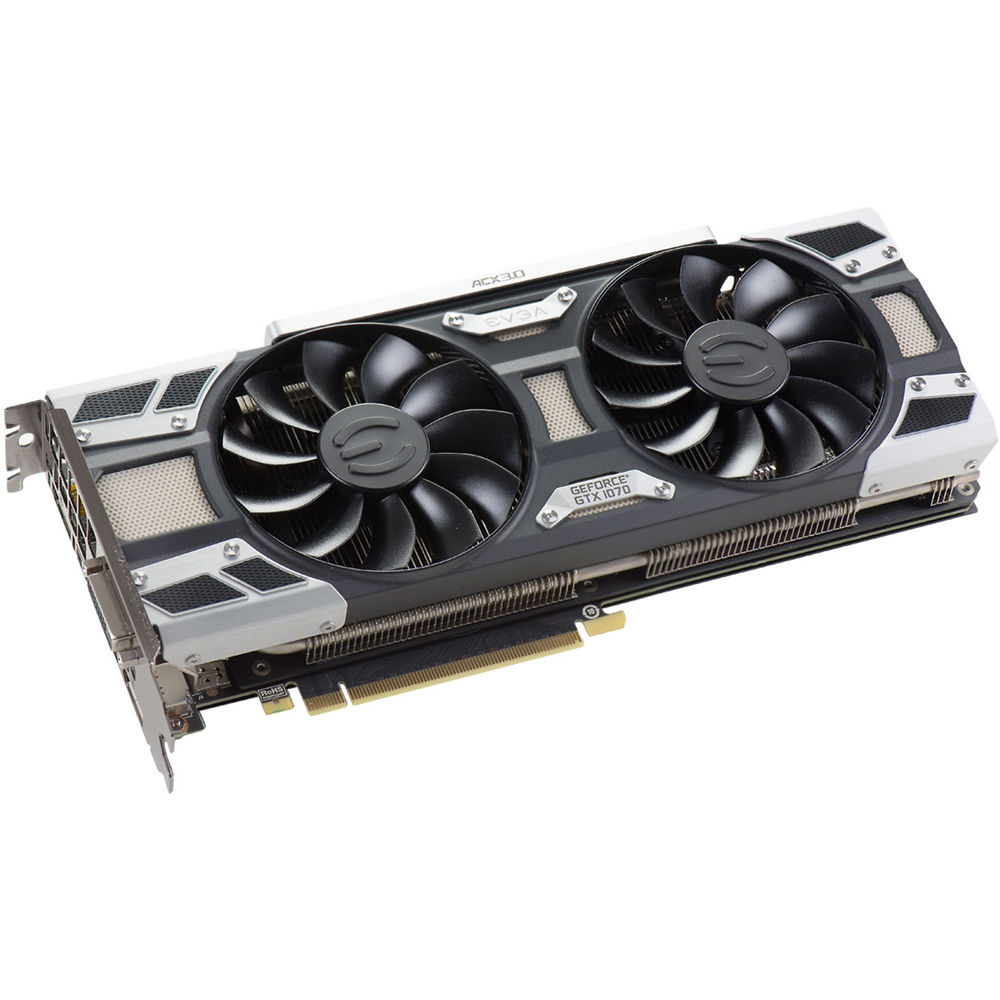EVGA GeForce GTX 1070 SC GAMING Graphics Card 08G-P4-6173-KR B&H