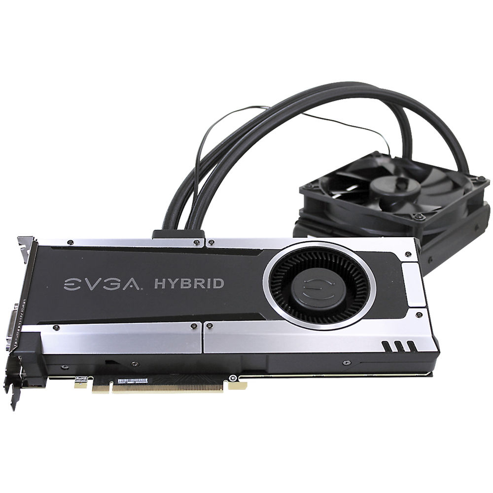 Evga Geforce Gtx 1080 Hybrid Gaming Graphics Card