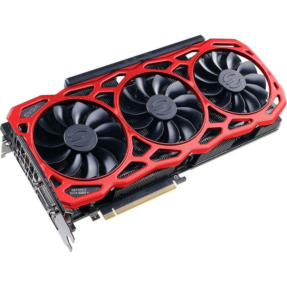Evga Geforce Gtx 1080 Ti Ftw3 Elite Gaming Red 11g P4 6796 K5