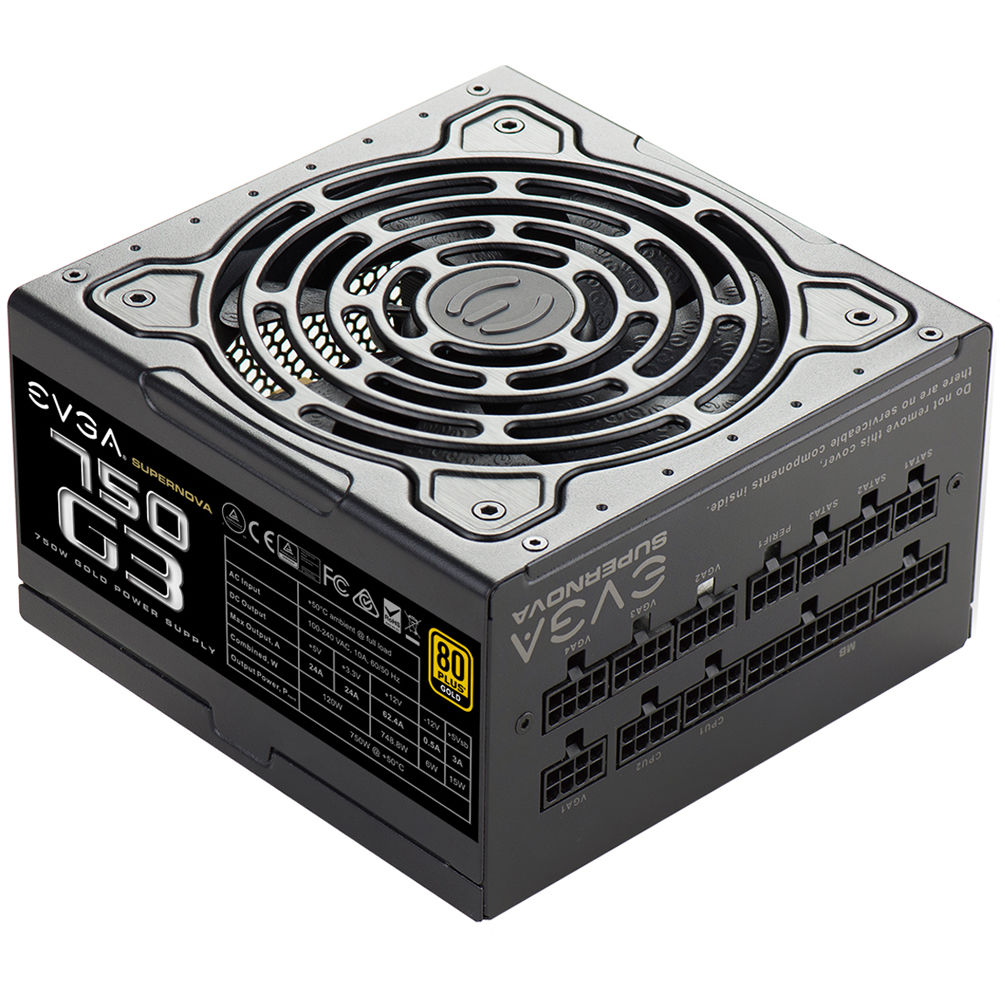 EVGA SuperNOVA 750 G3 750W 80 Plus Gold Modular 220-G3-0750-X1