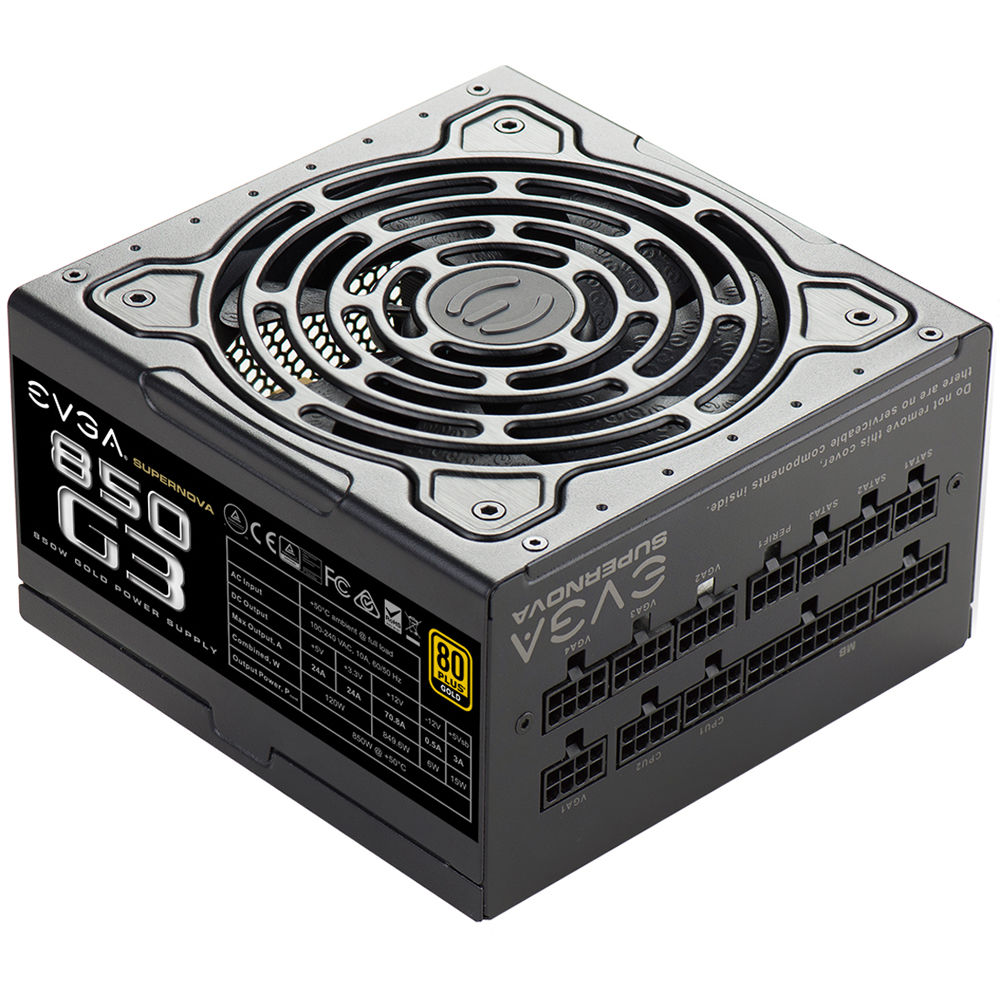 Evga Supernova 850 G3 850w 80 Plus Gold Modular 220 0850 X1 Electrical Wiring In The Home Volt Problem Loud Bang Volts Power Supply