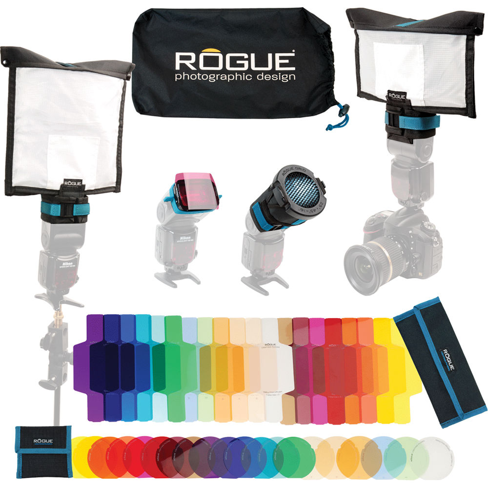 ExpoImaging Rogue Flashbender 2 Portable Lighting Kit  sc 1 st  Bu0026H & ExpoImaging Rogue Flashbender 2 Portable Lighting Kit ROGUEKIT2