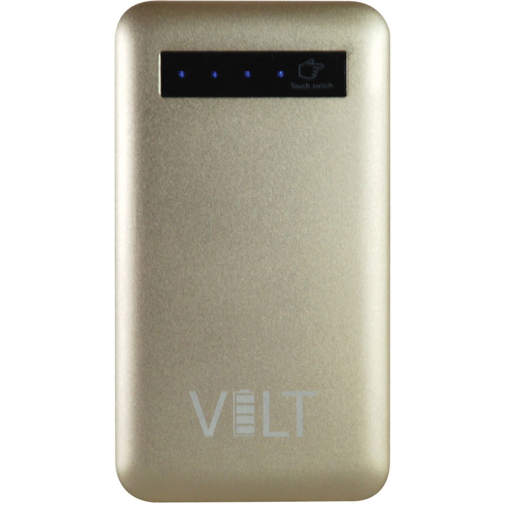 Ezquest Volt 9000 Duo Portable Charger Gold