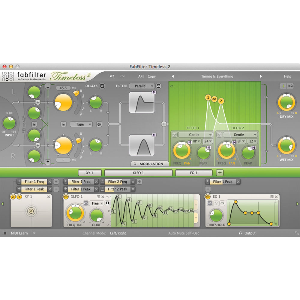 FabFilter Timeless 2 Tape Delay Plug-In 11-30178 B&H Photo Video
