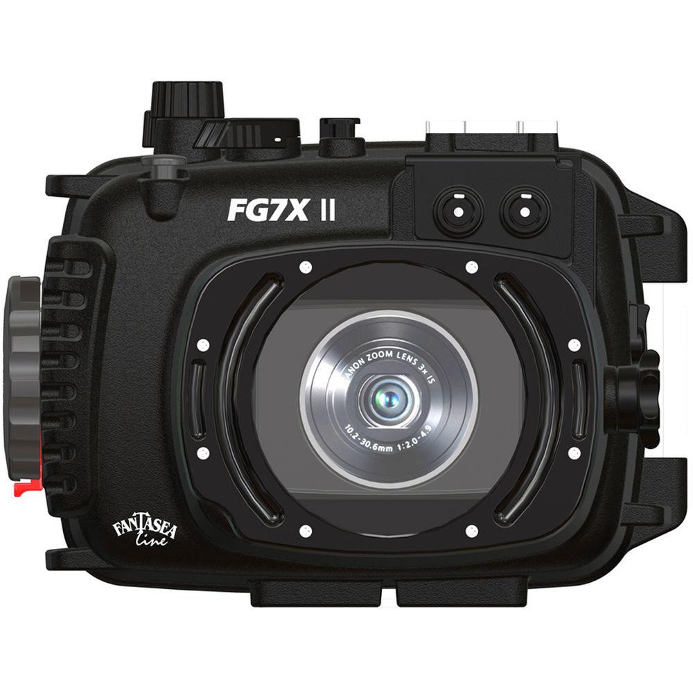 fantasea line fg7x ii underwater housing for canon g7 x 1396 b h rh bhphotovideo com canon g7 user manual pdf canon gx7 user manual
