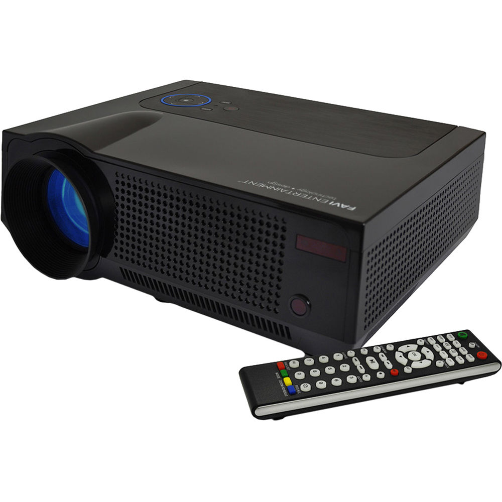 Led Lcd Projector X7 Home Cinema Theater Multimedia Led: Favi Entertainment RIOHD-LED-4T HD LCD Home Theater RIOHD
