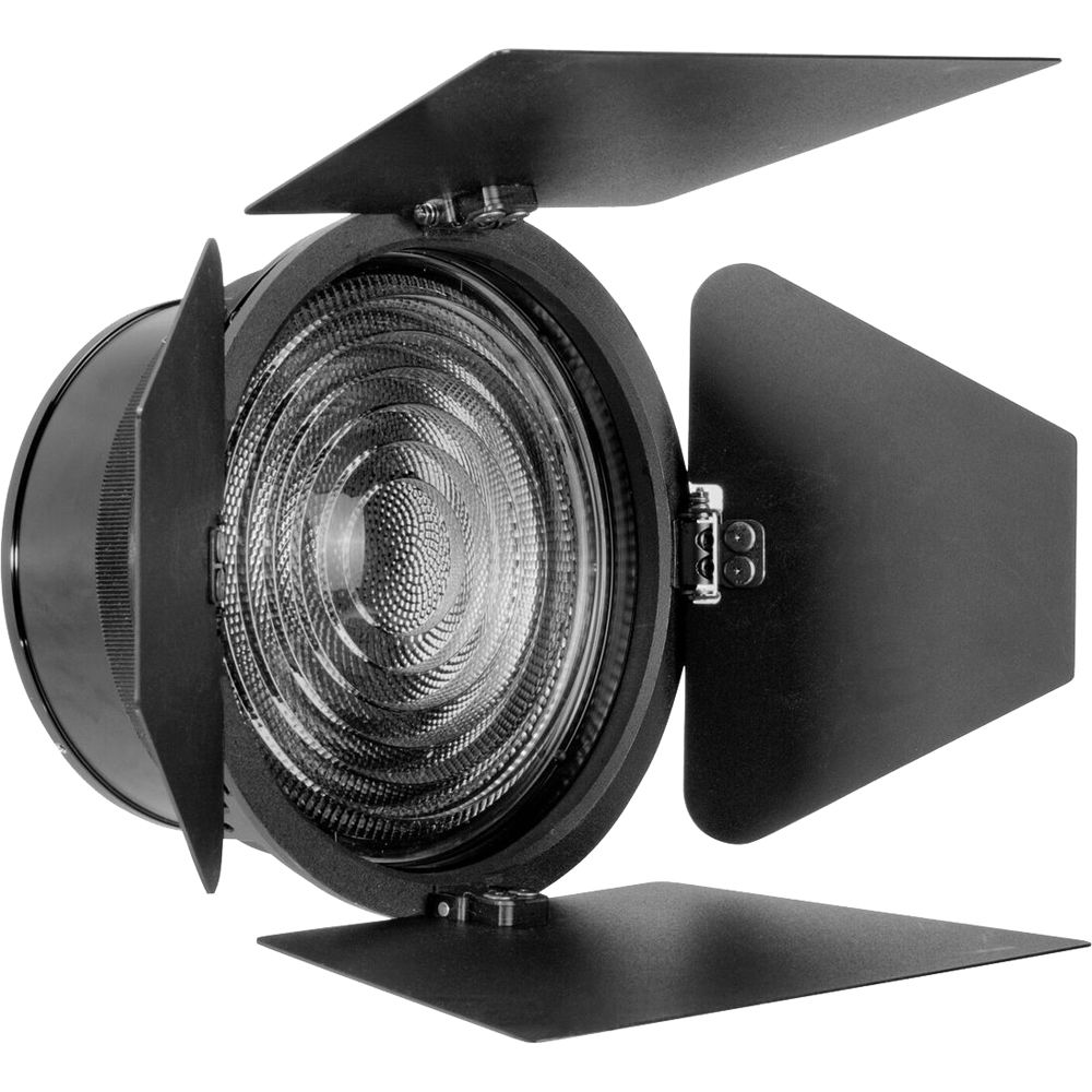 Fiilex 5 Fresnel Zoom Lens With Barndoors Flxa081 Bh