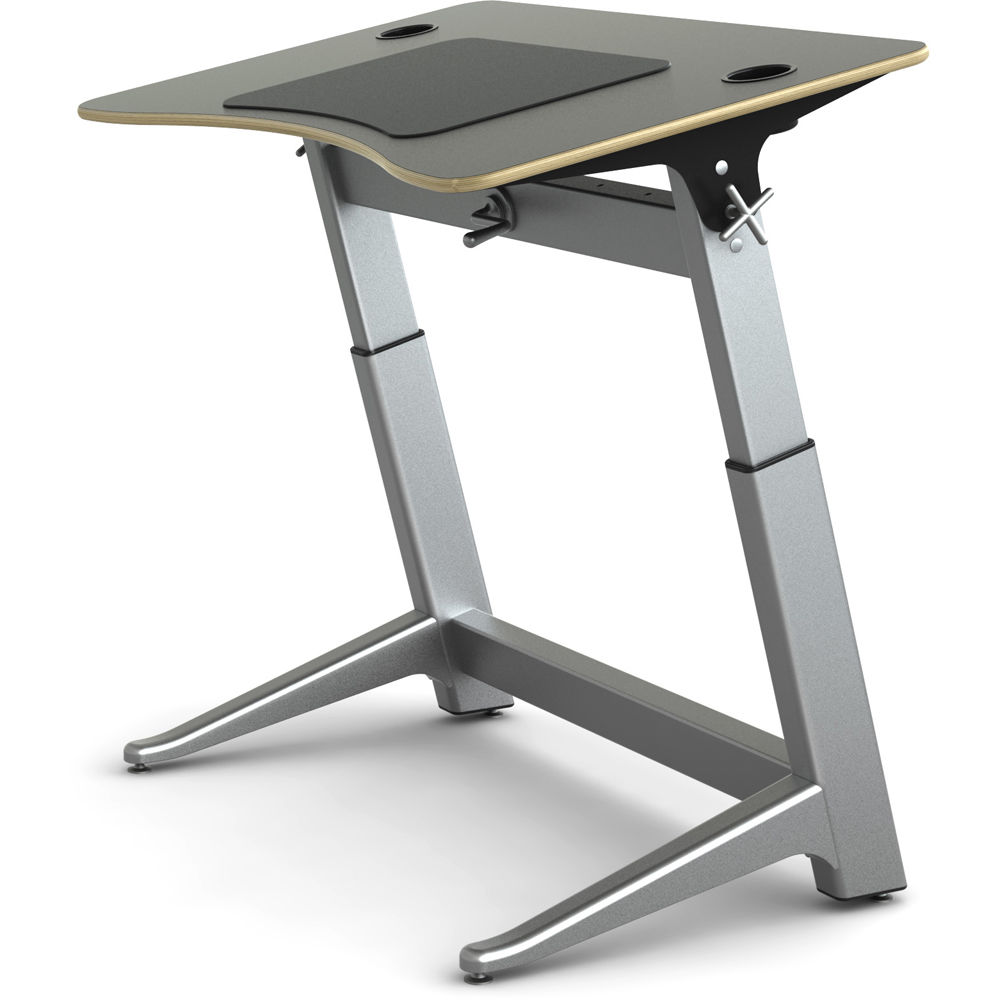 Focal Upright Furniture Locus Standing Desk (Matte Black Top)