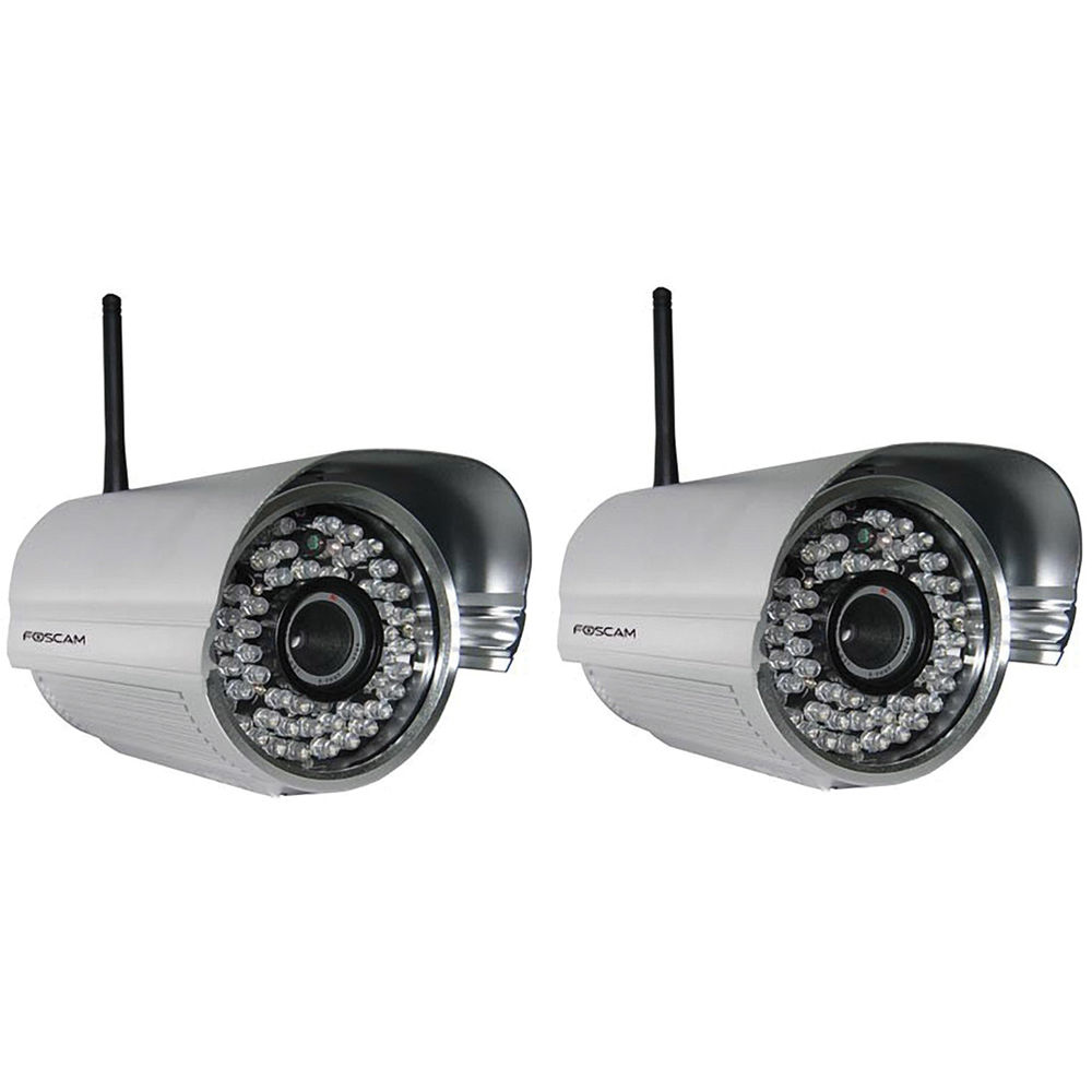 Outdoor wireless video camera