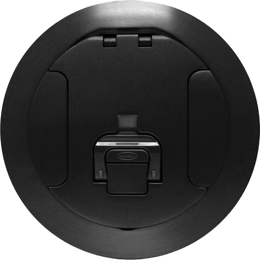 """Poke Through Floor Box FSR SF8-CVR-BLK 8"""" Cover for Smartfit Poke-Thru SF8-CVR-BLK"""