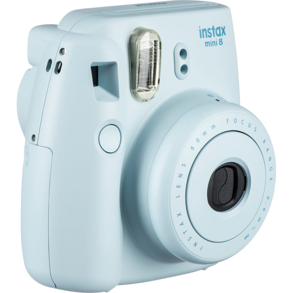 Fujifilm instax mini 8 Instant Film Camera (Blue) 16273439 B&H